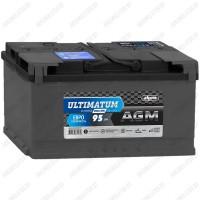 Аккумулятор AKOM Ultimatum AGM / 95Ah / 850А