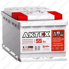 Аккумулятор АкТех 6CT-55A3 L / 55Ah