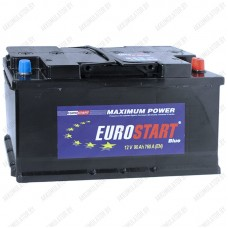 Аккумулятор Eurostart Blue 6CT-90 / 90Ah