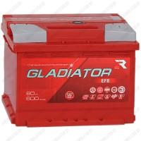 Аккумулятор Gladiator EFB / 60 R
