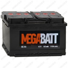 Аккумулятор Mega Batt 6СТ-66 R