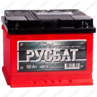 Аккумулятор РусБат 6СТ-60 L / Прямая полярность