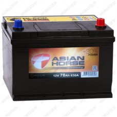 Аккумулятор Asian Horse 70 R
