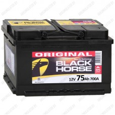 Аккумулятор Black Horse 75 R