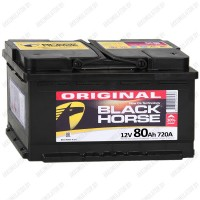 Аккумулятор Black Horse 80 R