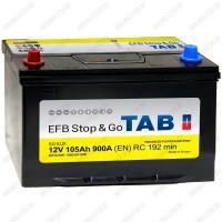 Аккумулятор TAB Stop&Go EFB Asia / [212105] / 105Ah / Прямая полярность
