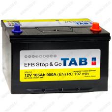 Аккумулятор TAB Stop&Go EFB Asia / [212005] / 105Ah