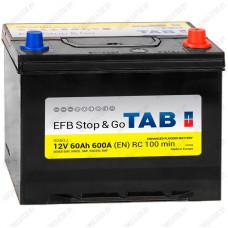 Аккумулятор TAB Stop&Go EFB Asia  / [212860] / 60Ah