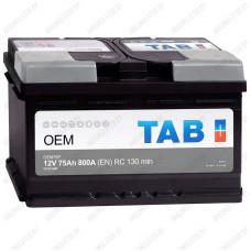 Аккумулятор TAB ОЕМ / [299075] / 75Ah