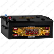 Аккумулятор 555 6СТ-140-А3 R / 140Ah