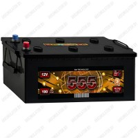 Аккумулятор 555 6СТ-190-А3 R / 190Ah