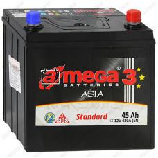 Аккумулятор A-Mega Standard Asia 45JR / 45Ah