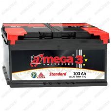 Аккумулятор A-Mega Standard / 100Ah / Прямая полярность
