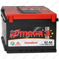 Аккумулятор A-Mega Standard 62 R / 62Ah