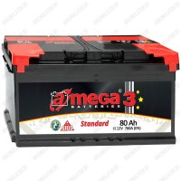 Аккумулятор A-Mega Standard / 80Ah