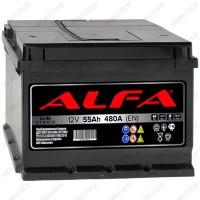 Аккумулятор Alfa Hybrid 55 L / Прямая полярность