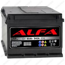 Аккумулятор Alfa 60 L / Прямая полярность