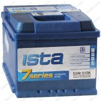Аккумулятор ISTA 7 Series 6CT-52 A2Н / 52Ah / Низкий
