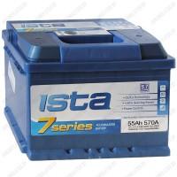 Аккумулятор ISTA 7 Series 6CT-55 A2Н E / 55Ah / Низкий