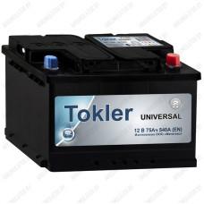 Аккумулятор Tokler Universal 75 R / 75Ah