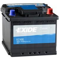 Аккумулятор Exide Classic EC500 / 50Ah