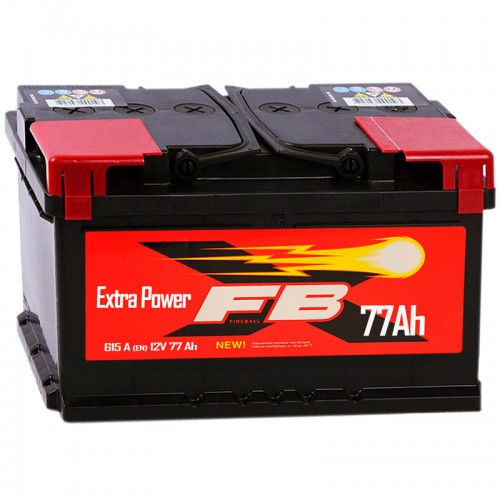 Аккумулятор FireBall 6СТ-77 R / 77Ah