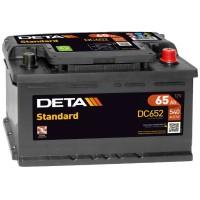 Аккумулятор DETA Standard DC652 / 65Ah / Низкий