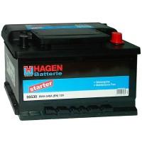 Аккумулятор Hagen Starter 56530 / 65Ah R / Низкий
