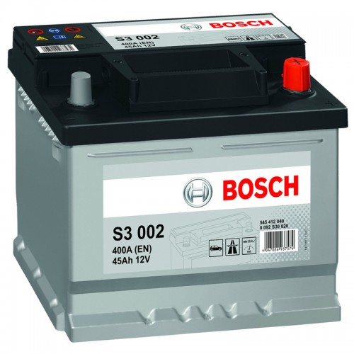 Аккумулятор Bosch S3 002 / 545 412 040 / 45Ah