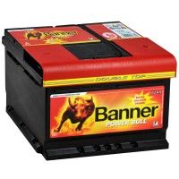 Аккумулятор Banner Power Bull Double Top / 62Ah / Низкий