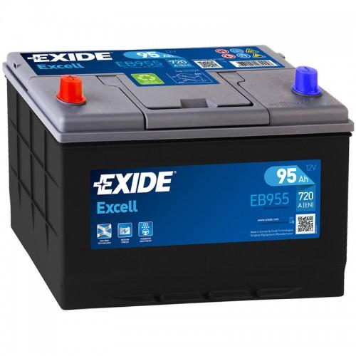 Аккумулятор Exide Excell EB955 / 95Ah