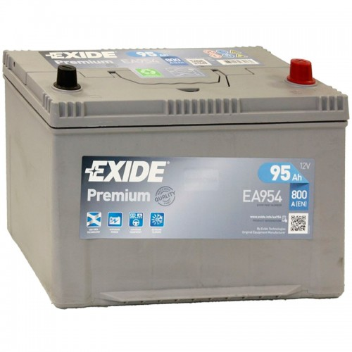 Аккумулятор Exide Premium EA954 / 95Ah