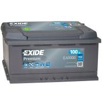 Аккумулятор Exide Premium EA1000 / 100Ah