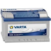 Аккумулятор Varta Blue Dynamic E43 / 572 409 068 / 72Ah R / Низкий