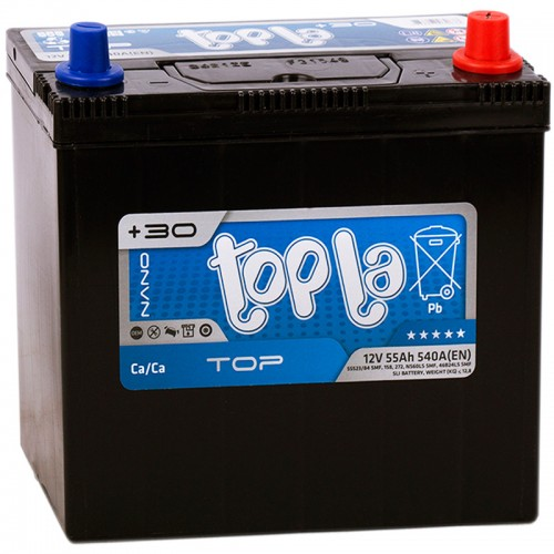 Аккумулятор Topla JIS R / 55Ah / 118355