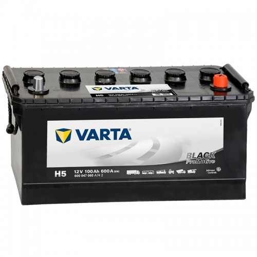 Аккумулятор Varta Promotive Black H5 / 600 047 060 / 100Ah R