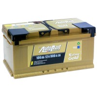 Аккумулятор AutoPart Galaxy Gold Ca-Ca 600-560 / 100Ah / Низкий
