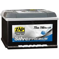 Аккумулятор ZAP Silver Premium 575 45 / 75Ah / Низкий