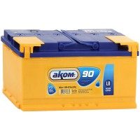 Аккумулятор AKOM Classic LB 90Ah / Низкий