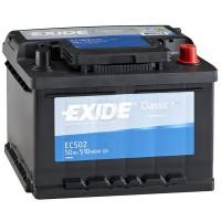 Аккумулятор Exide Classic EC502 / 50Ah / Низкий