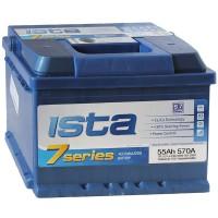 Аккумулятор ISTA 7 Series 6CT-55 A2Н / 55Ah / Низкий