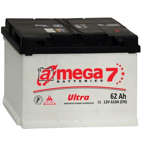 Аккумулятор A-Mega Ultra 62 R / 62Ah