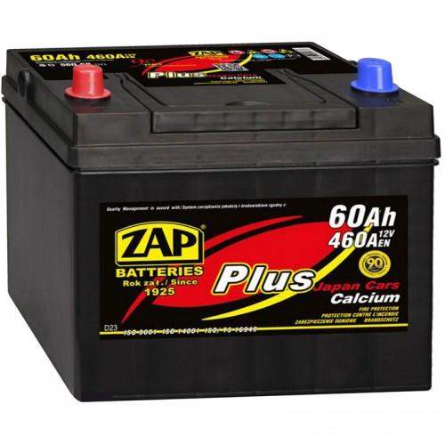 Аккумулятор ZAP Plus Japan 560 69 L / 60Ah