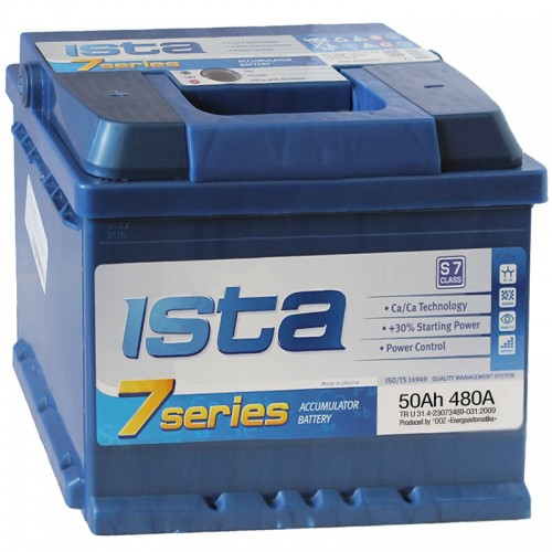 Аккумулятор ISTA 7 Series 6CT-50 A2 / 50Ah