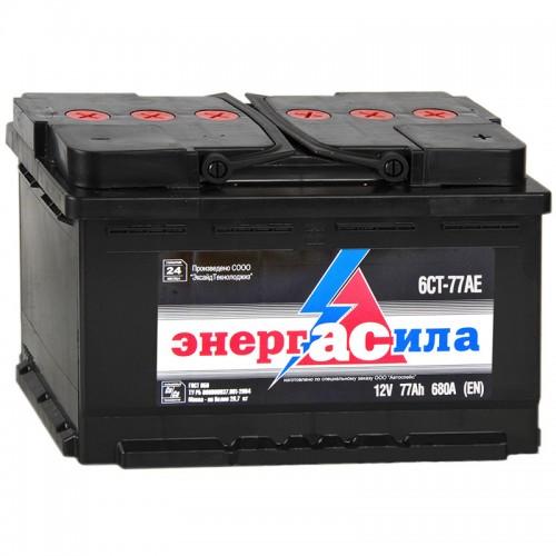 Аккумулятор Энергасила 6СТ-77АЕ R