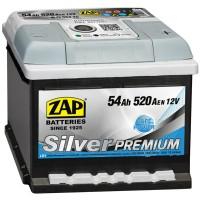 Аккумулятор ZAP Silver Premium 554 45 R / 54Ah / Низкий