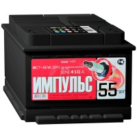 Аккумулятор Импульс 6СТ-55 / 55Ah