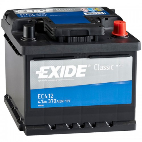 Аккумулятор Exide Classic EC412 / 41Ah / Низкий
