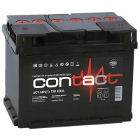 Аккумулятор Contact 6CT-55/ 0/1-L2АЧ-АЧ-0 / 55Ah
