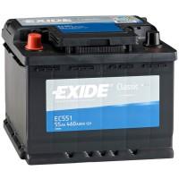 Аккумулятор Exide Classic EC551 / 55Ah